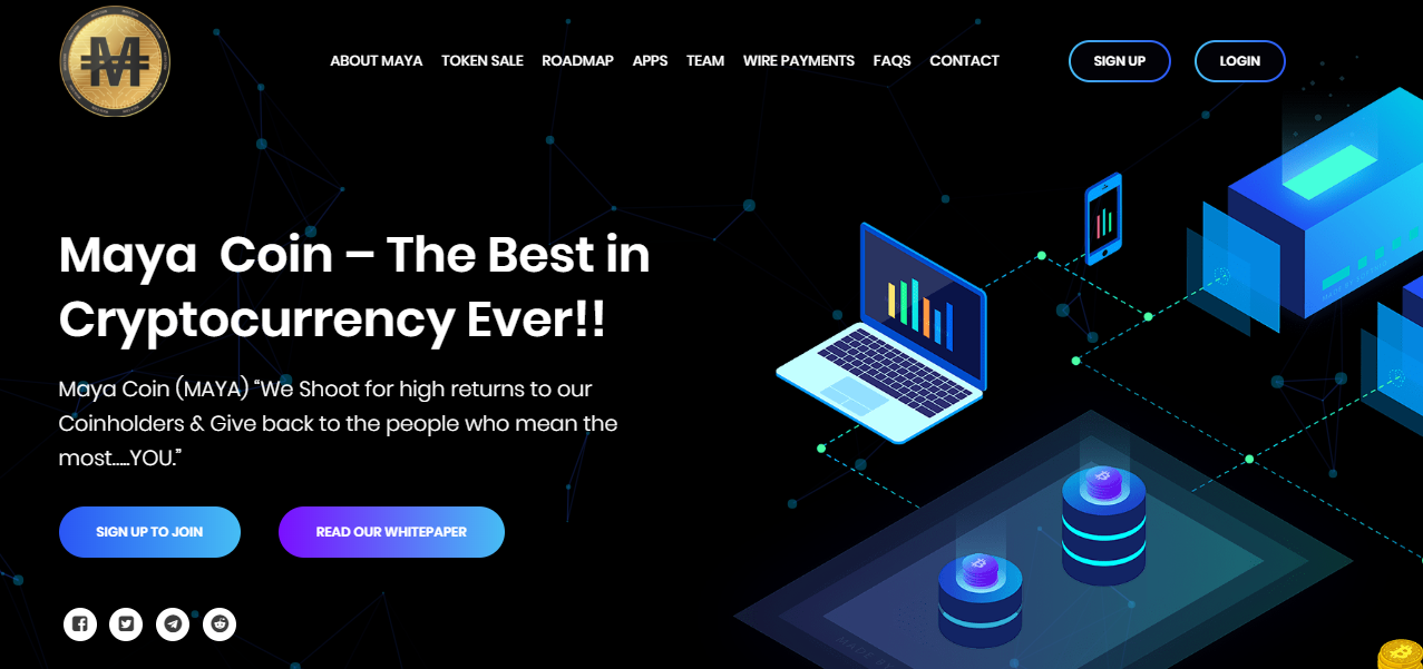 Maya Coin Is The First Ever Cryptocurrency To Issue